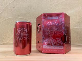 フランシス・コッポラ  ソフィア ブラン・ド・ブラン ミニ モントレー・カウンティ(缶入りスパークリング)