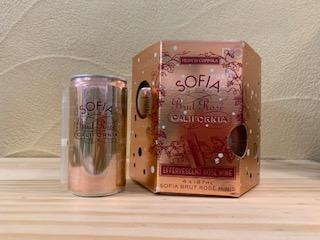フランシス・コッポラ ソフィア ブリュット ロゼ ミニ カリフォルニア(缶入りスパークリング)